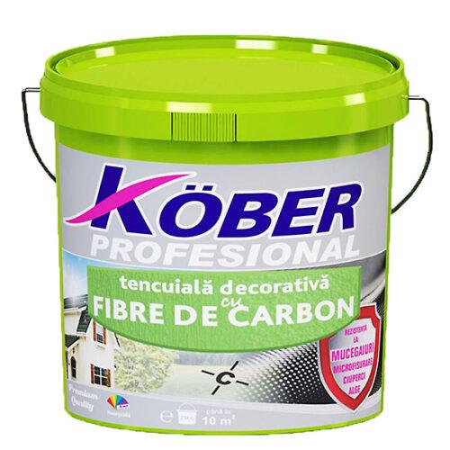 """tencuiala decorativa cu fibra de carbon """"scoarta de copac"""" Kober"""