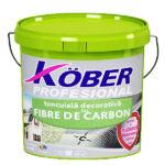 """tencuiala decorativa cu fibra de carbon """"bob de orez"""" Kober - tencuialadecorativa.ro"""