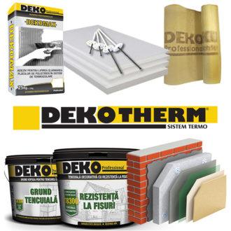 Termosistem premium cu polisitren DEKO