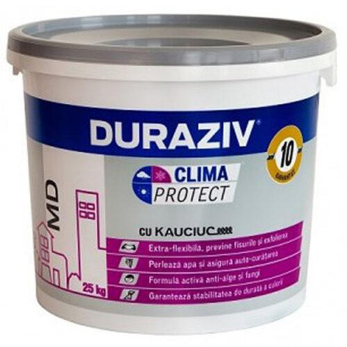 tencuiala decorativa granulata DURAZIV Clima Protect