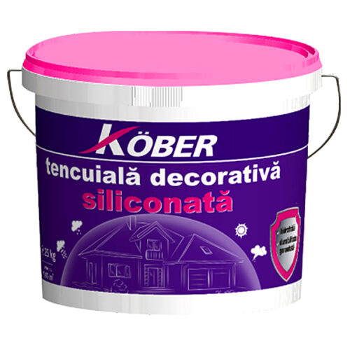 tencuiala decorativa siliconata KOBER