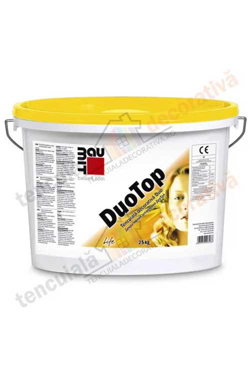 tencuiala decorativa Duo Baumit DuoTop