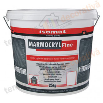 tencuiala decorativa acrilica ISOMAT MARMOCRYL Fine