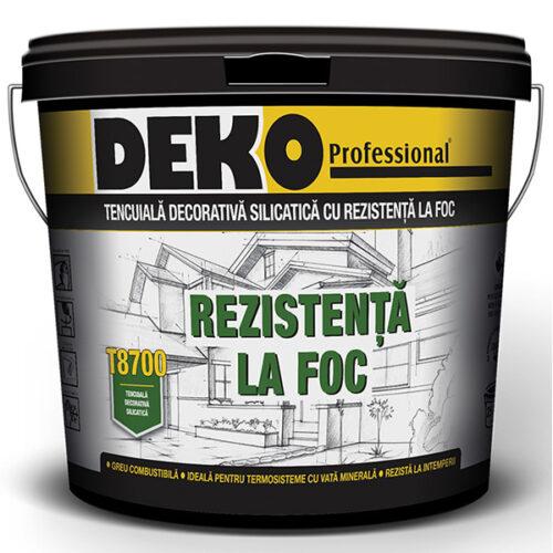 tencuiala decorativa silicatica DEKO T8700