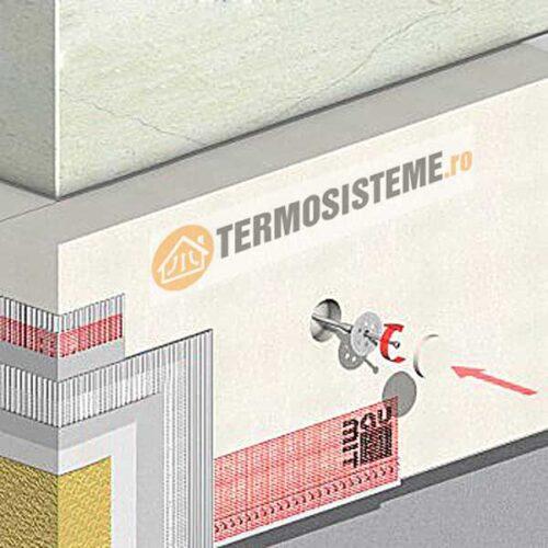 Termosistem de fatada DUO EPS80 BAUMIT 10cmeste un sitem de izolatie pentru fatada casei. Confera rezistență si durabilitate ridicată.